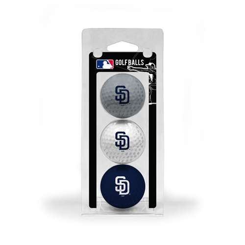 San Diego Padres Golf 3 Ball Pack