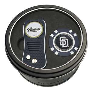San Diego Padres Golf Tin Set - Switchblade, Golf Chip