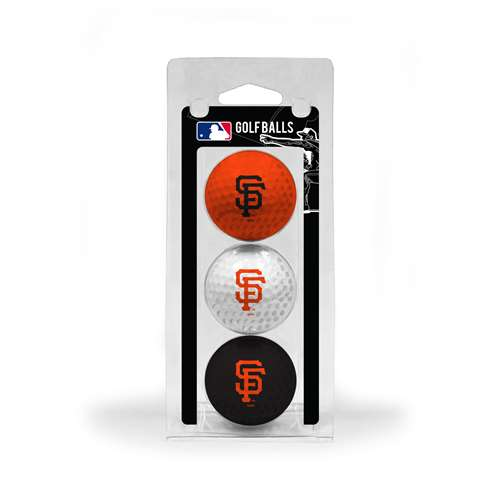 San Francisco Giants Golf 3 Ball Pack 97305