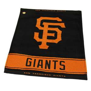 SAN FRANCISCO GIANTS Golf Towel - Ball Club & Bag Towels