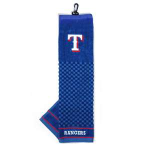 Texas Rangers Golf Embroidered Towel