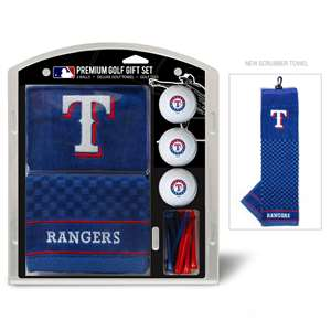 Texas Rangers Golf Embroidered Towel Gift Set