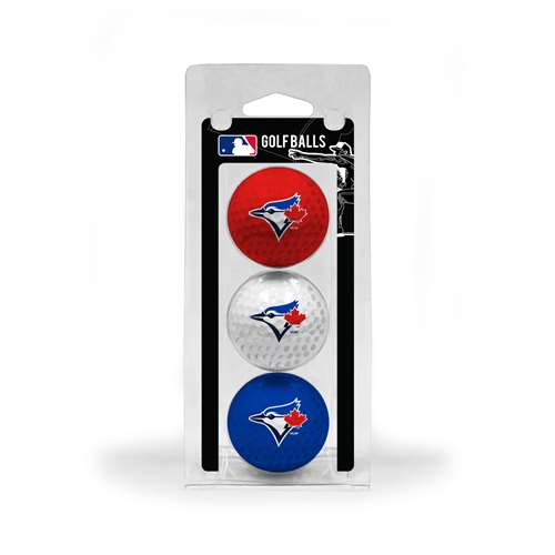 Toronto Blue Jays Golf 3 Ball Pack 97805