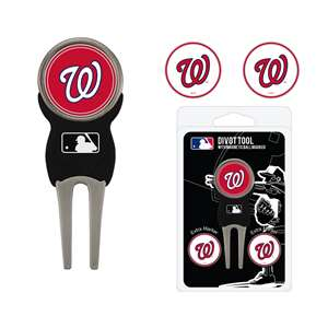 Washington Nationals Golf Signature Divot Tool Pack  97945