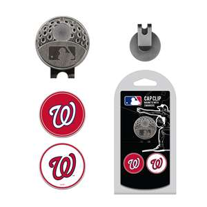 Washington Nationals Golf Cap Clip Pack 97947