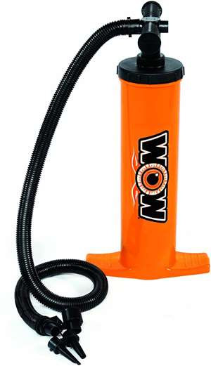 WOW Double Action Hand Pump Towable Lake Float
