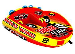 WOW WILD WING 2P  Towable Lake Float