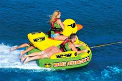 WOW BIG DUCKY 3 PERSON  Towable Lake Float