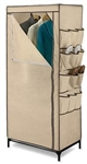 "27"" Storage Closet With Shoe Organizer"
