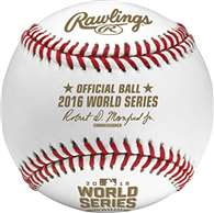 Rawlings 2016 Official MLB World Series Game Baseball - Cubed