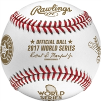 2017 World Series Dueling Teams Official Rawlings Baseball Los Angeles Dodgers vs. Houston Astros