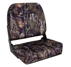 Wise Camouflage Big Man Fishing Boat Seat Mossy Oak Breakup Country