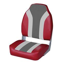 Wise Classic High Back Boat Seat Wise Red-Wise Gray-Wise Charcoal