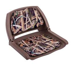 Wise Camo Boat Seat Brown Shell - Shadowgrass Blades