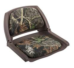 Wise Camo Boat Seat Brown Shell - Original Bottomland