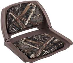 Wise Camo Boat Seat Brown Shell - Max 5