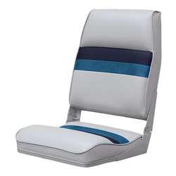 Wise Boat Seat  Wise Gray-Wise Navy-B&M Blue