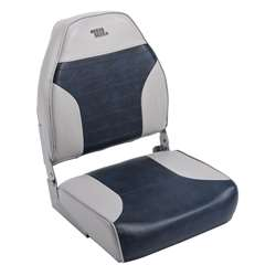 Wise Mid Back Boat Seat Wise Gray-Wise Navy