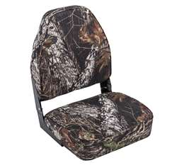 Wise Camo High Back  Boat Seat - Break Up Country