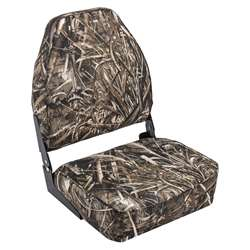 Wise Camo  High Back Boat Seat Maxx 5