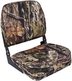 Wise Camo Low Back  Boat Seat - Break Up Country