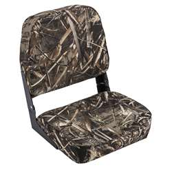 Wise Camo Low Back  Boat Seat Maxx 5