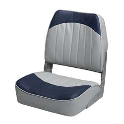 Wise Standard Low Back Boat Seat Wise Gray-Wise Navy