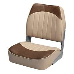 Wise Economy Low Back Boat Seat Sand/Brown