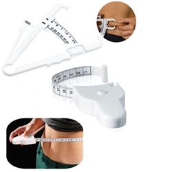 Body fat Caliper and  Body Measuring Tape Kit