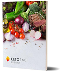 Keto 360 Blueprint paperback book--NEW NEW