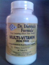 Mens' Multi Vitamin  Iron free