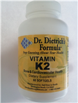 Vitamin  K-2 (MenaQ7) 100 mcg 60softgels
