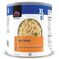 Rice & Chicken #10 Can by Mountain House