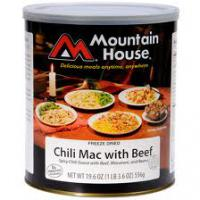 Chili Mac with Beef #10 by Mountain House