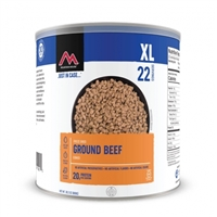 Ground Beef #10 Can Mountain House
