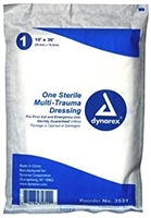 "10""X30"" Multi Trauma Dressing Sterile"