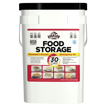 30-Day Food Storage Emergency All-in-One Pail