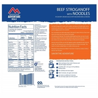 Beef Stroganoff with Noodles Pouch by Mountain House