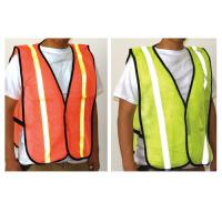 Yellow Reflector Vest w/ Reflective Strips