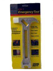 4-in-1 Gas & Water Shut Off Tool 	(Earthquake Tool)