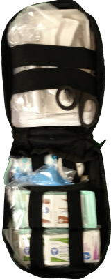 Surgical IFAK by Prep And Save (Individual First Aid Kit)