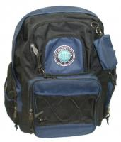 Navy Blue Multi-Pocket Backpack