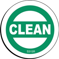 CLEAN Status Label