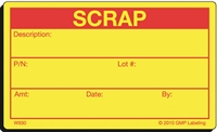 SCRAP Waste Label