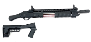 "NEW GEN 2! DUKE III ULTRA 12GA 18.5"" BRL PUMP ACTION NON NFA FIREARM BLACK CERAKOTE USA"