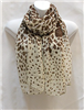 Brown Giraffe Scarf