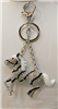 Horse Key Chain, Purse Charm or Necklace