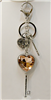 Heat Key Chain, Purse Decoration or Necklace