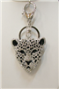 Leopard Key Chain, Purse Pendant or Necklace