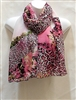 Pink and White Multi Color Scarf